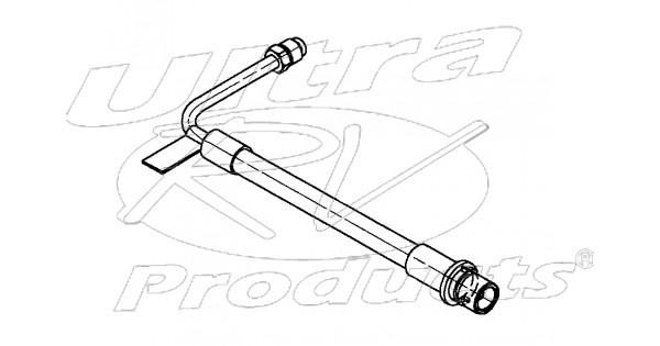 w8006767 - hose asm - rear brake  abs module to rear