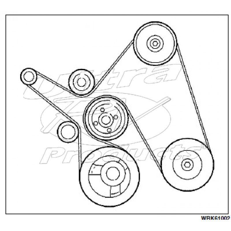 W0000581 Workhorse Wseries 81l Serpentine Drive Belt: 2001 Ford Truck Belt Diagram At Daniellemon.com