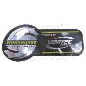 W0000711  - Workhorse 8.1L Vortec Label