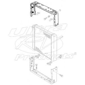 W8007022  -  Panel Asm - Radiator Upper Mounting