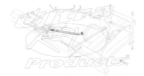 15680206 - cable asm - park brake rear