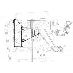 15680311  -  Bracket - Park Brake Support