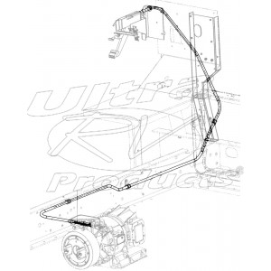 """W0000572  -  Cable Asm - Park Brake Front (138"""")"""