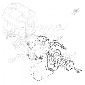 W0000586  - Workhorse Booster Asm - Brake (Hydraulic)