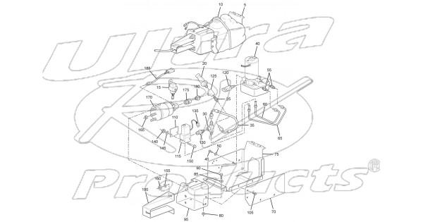 W0005235 Actuator Asm Park Brake With Bracket