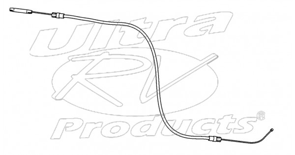 w0008145 - cable asm - parking brake rear  length 1137mm