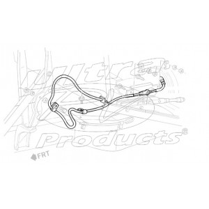 WORKHORSE PARTS W8000528 HOSE ASM,O-COOL