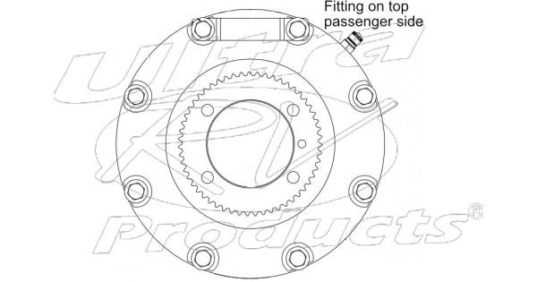 w8001662 - hydraulic propshaft parking brake asm  without yoke