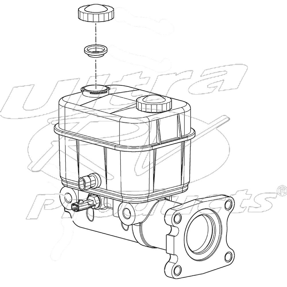 For 2001-2009 Workhorse W22 Brake Rotor 87237NQ 2002 2003 2004 2005 2006 2007