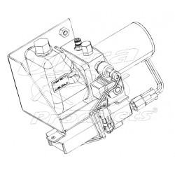 W8005667 - Pump Asm - J72 Park Brake (With Control Module & Mounting Bracket)