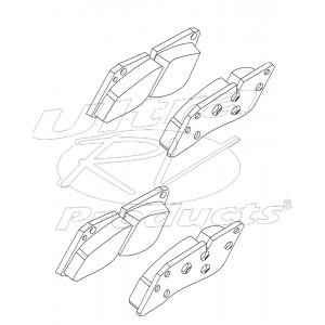 W8005925  -  Brake Pad Kit