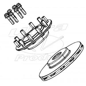 W8006231 - Front Brake Rotor Kit (2 X 68mm Brembo) (322mm)