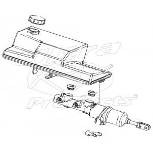 W8007146  -  Master Cylinder Asm (with Reservoir)