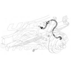W8006747  -  Brake Hose Assembly - Front  RH (I-Beam - 4 Wheel Disc)
