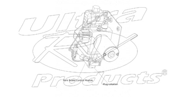 w8005099 - j72 park brake control module