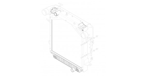 W8002820 Radiator Asm 4 5l Diesel Workhorse Parts