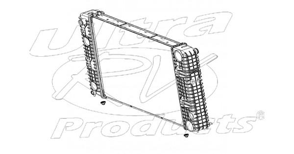 w8003550 - radiator assembly