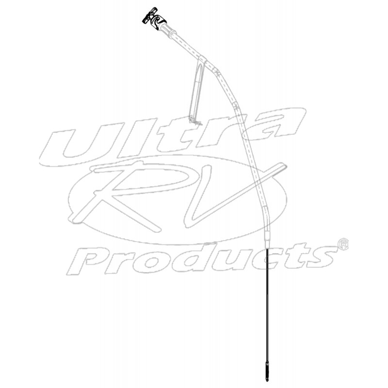 12550885 - Dipstick Asm - Oil Level (6 5L Diesel)