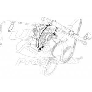 12559100  -  Bracket - Oil Level Indicator Tube
