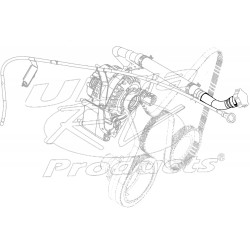 12559889  -  Tube Asm - Oil Filler (Upper)