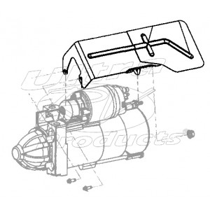 12569625 - Starter Heat Shield