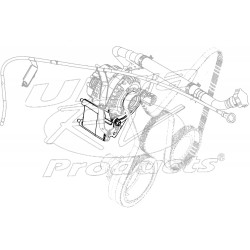 W0003928  -  Bracket Asm - Generator & Drive Belt Tensioner