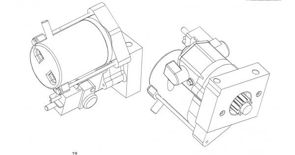 w0012669 - starter motor asm  1 4 kw