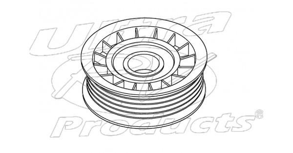 w8800350 - pulley asm - belt idler  5 7l