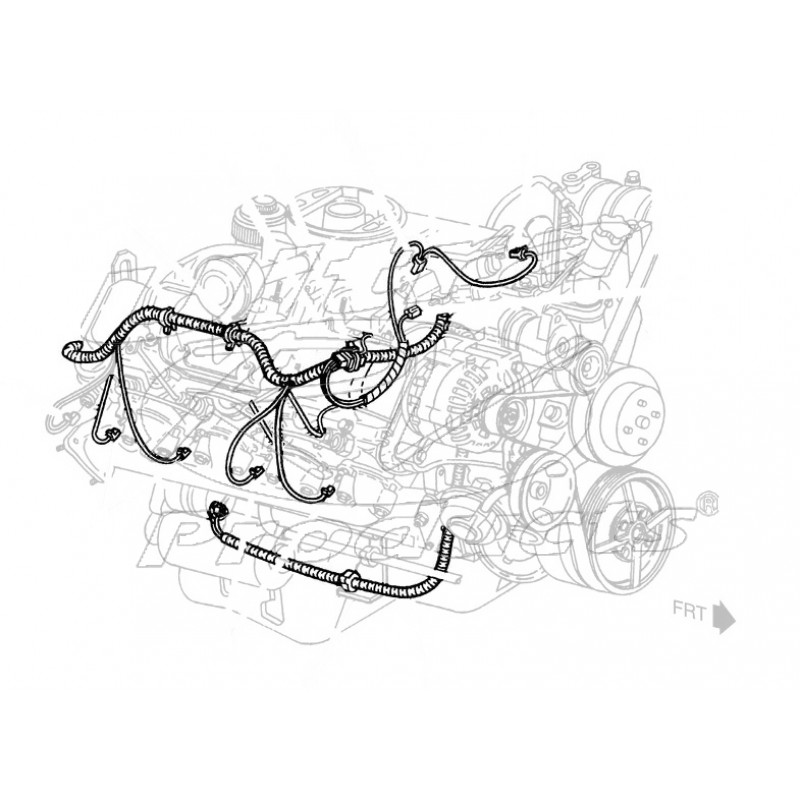 15302634 - harness asm - engine wiring extension  6 5l
