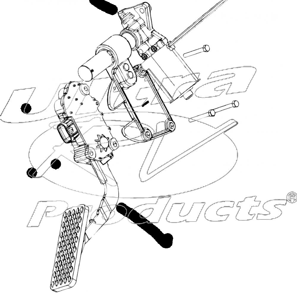 6570417 Monaco Roadmaster Accelerator Pedal Sensor Asm