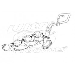 12557282  -  Manifold - Exhaust, RH (EGR Port)