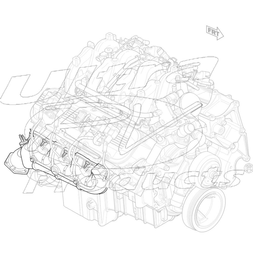 12580304  -  Manifold Asm - Exhaust RH