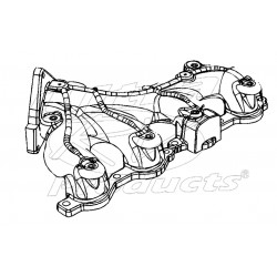 12603737 - Manifold Asm - Exhaust, LH  4.8L/6.0L (LQ4 6.0L, All 4.8L)