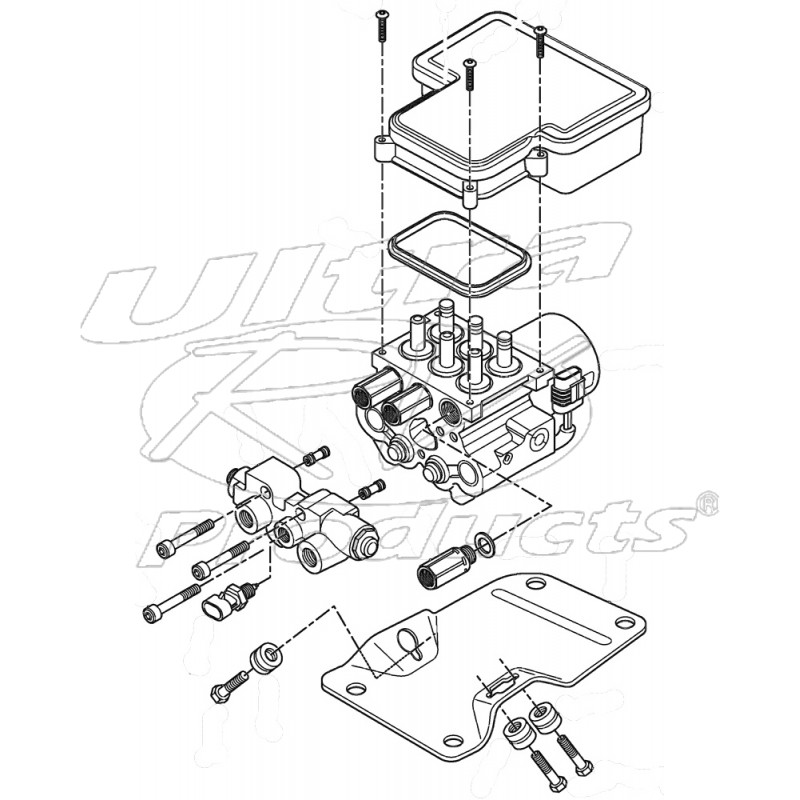 w8000548 - electric hydraulic control unit
