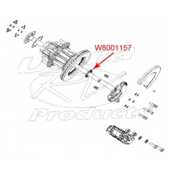 W8001157 - Rear Wheel Inner Bearing Seal
