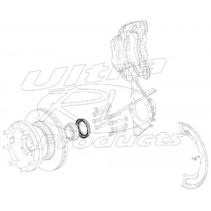 W8004694  -  Front Wheel Seal