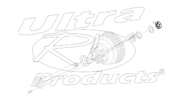 w8810206 - oil seal - rear wheel  disc  drum