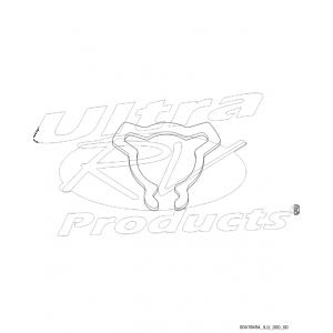 00419454  -  Retainer - Steering Wheel Nut