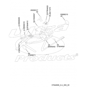 07844688  -  Housing Asm - Steering Column