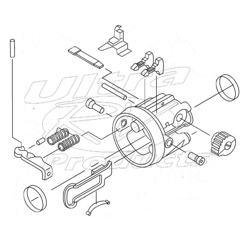 W16 Engine Cylinder
