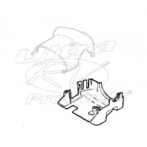 26036498  -  Shroud - Steering Column Lower