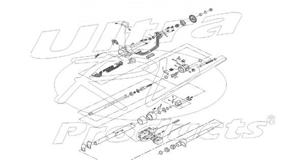26045985 - column asm - steering  tilt