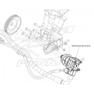 W0006555 - Pump Asm - Power Steering (4.22 Gallons Per Minute)