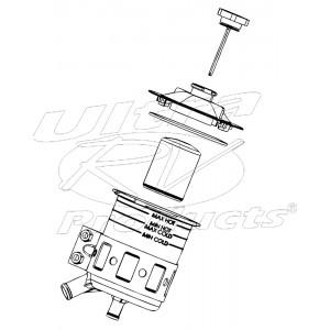 W0009903  -  Reservoir Asm - Power Steering- 1.5L Capacity