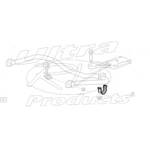 00357562  -  Bracket - Rear Sway Bar Bushing