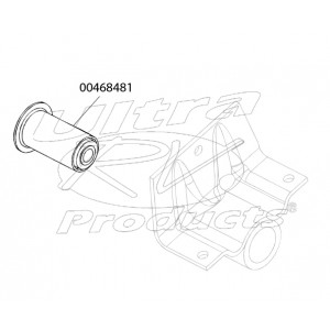 00468481  -  Bushing - Rear Spring