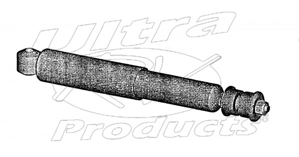 w8801003 - shock absorber asm - rear  w22  eyelet top  stud bottom