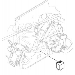 W0002507  -  Module Asm - Turn Signal Flasher/Hazard 25 Amps