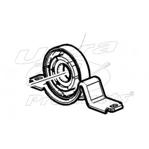 12546071  -  Bearing Asm - Propshaft Center Support