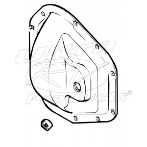 15634024  -  Cover - Rear Axle Housing